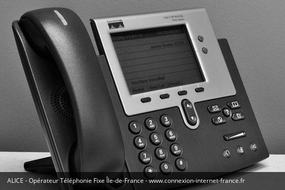 Téléphonie Fixe Île-de-France Alice