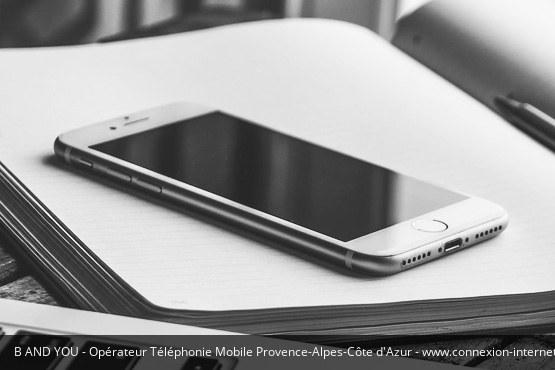 Téléphonie Mobile Provence-Alpes-Côte d'Azur B&You