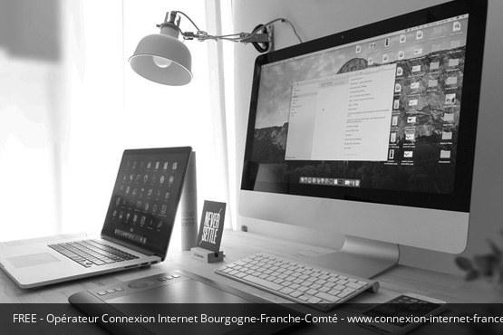Connexion Internet Bourgogne-Franche-Comté Free